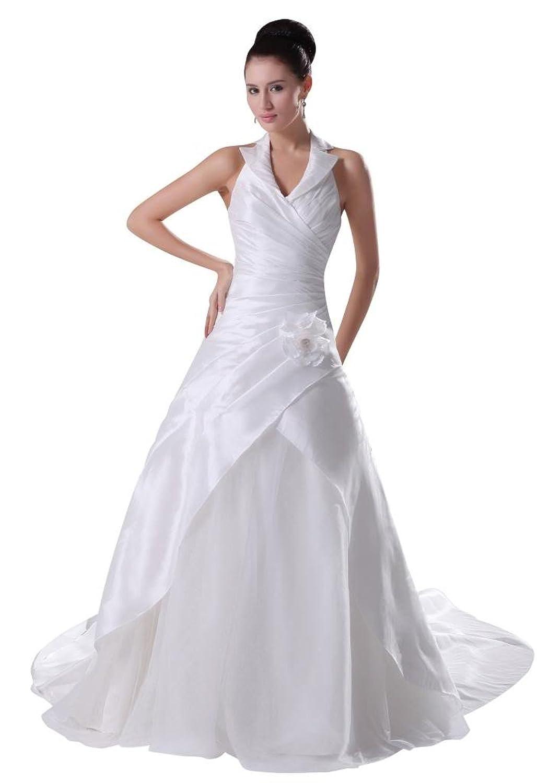 GEORGE BRIDE Gorgeous Elegant Latest Design Court Train Bridal Dress