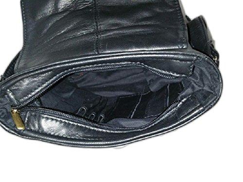 altieri confezioni - Bolso al hombro para hombre negro negro