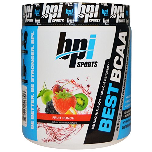 BPI Sports, Best BCAA, Fruit Punch, 10.58 oz (300 g) - 3PC by BPI Sports