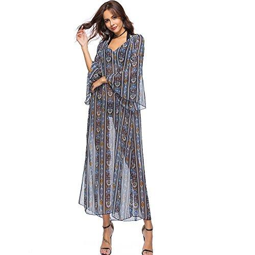 Beryl Vestido Estampado de Cóctel gris
