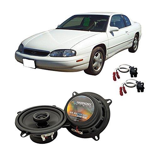 Fits Chevy Monte Carlo 1995-1999 Front Door Factory Replacement Harmony HA-R5 Speakers - Door Monte Carlo Chevrolet Front