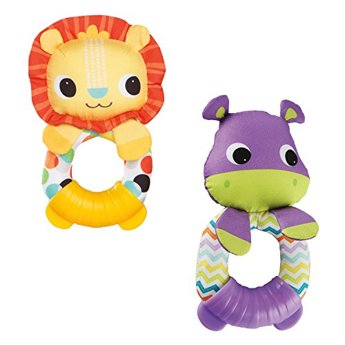 Bright Starts Teethe & Rattle Pals (characters may vary) (Rattle Pal)