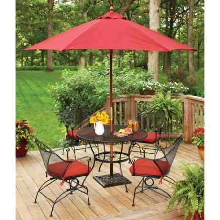 wrought iron patio dining set - 2