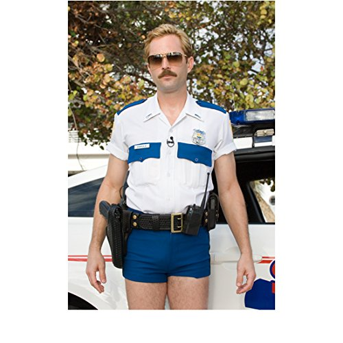 Reno 911 Thomas Lennon as Jim in Sunglassees and Short Blue Shorts 8 x 10 inch photo