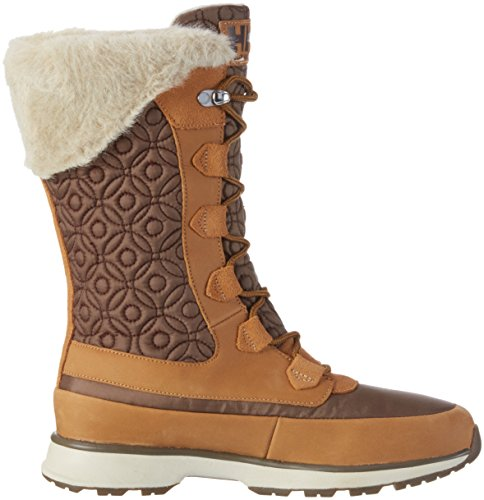 Helly Hansen W Snowbird HT, Botines para Mujer Camel / Marrón (Honey Wheat / Walnut / Na)