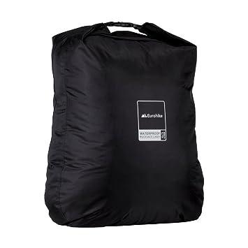 0757b6fc033 Eurohike Waterproof Rucksack Liner 55-75L, Black, One Size  Amazon ...