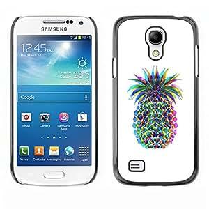 Caucho caso de Shell duro de la cubierta de accesorios de protección BY RAYDREAMMM - Samsung Galaxy S4 Mini i9190 MINI VERSION! - Colorful Art Drawing Food