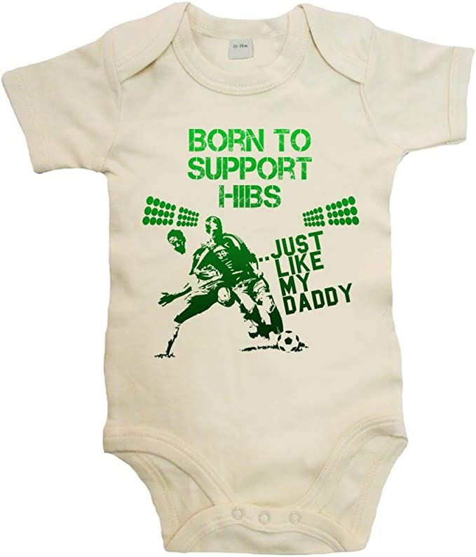Keep Calm and Support HIBS Fun Hibernian FC Football SPFL Supporter Baby Vest 12-18 Months