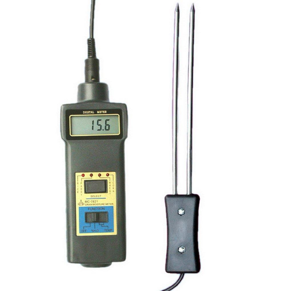 ACMEDE Feuchtigkeitsmessgerät Feuchtemesser für Getreide,Messbereich von Feuchtigkeit 8% ~ 20% -MC7821