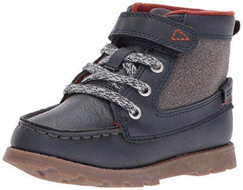 carter's Boys' Bradford Fashion Boot, Navy, 10 M US Toddler