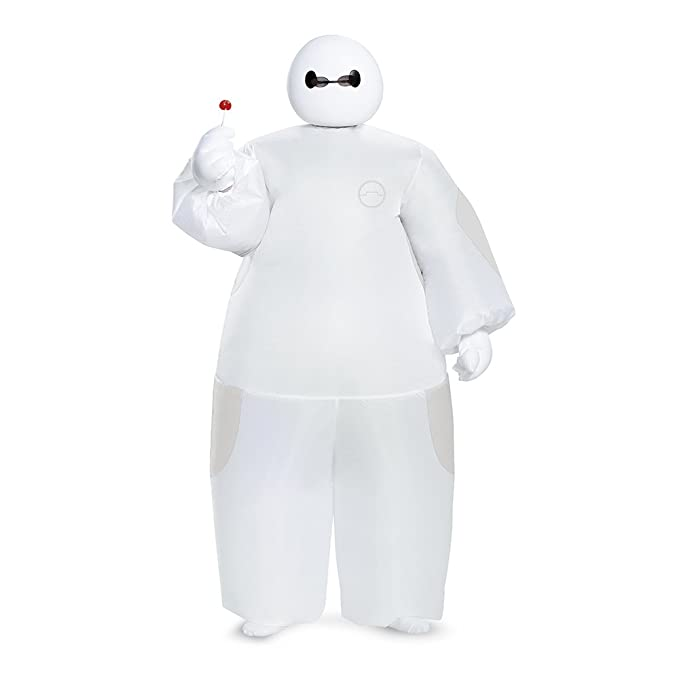094c2a1180a3 Amazon.com  White Baymax Inflatable Costume