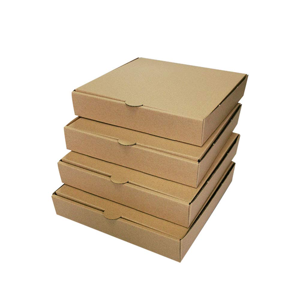 """14/"""" inch Takeaway Pizza Box Strong Quality Postal Boxes Brown 7/"""" Pizza Boxes"""