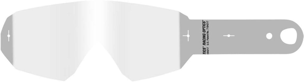 O Neal Motocross Brillen Ersatzteile Motorrad Enduro 10 Abrißstreifen Laminierte Abreißfolien Für Maximale Klarheit Durch Reduzierte Folienschichten B 10 Goggle Tear Off Pack Laminated Weiß Sport Freizeit