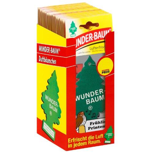Wunder-Baum 134215/24 Lufterfrischer 24-er Box Fruehling