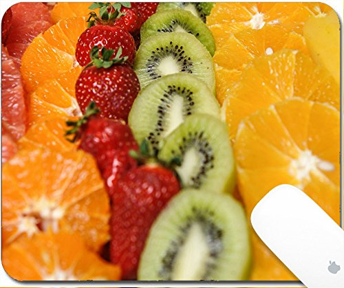 Luxlady Gaming Mousepad 9.25in X 7.25in IMAGE: 40266479 Carved fruits arrangement Fresh various fruits Assortment of exotic fruits Fresh fruits decoration