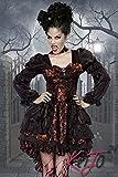"3-tlg. Vampir-Kostüm ""Draculina "" Karneval Mottoparty Halloween"