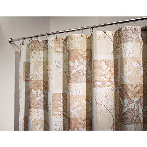 - InterDesign Vivo Botanical Fabric Shower Curtain - 72