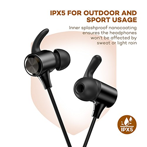 TaoTronics-Wireless-Earphones-with-Adjustable-Earhooks-for-Extra-Stability-IPX5-Waterproof-Sweat-Proof-AptX-Lossless-Sound-8-Hours-Playtime