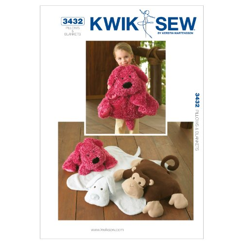 UPC 033594343246, Kwik Sew K3432 Pillows and Blankets Sewing Pattern, No Size