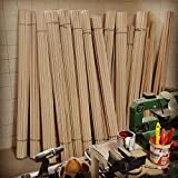 Verga raw material DIY Pack 10x pcs - Small Size 140 cm