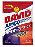 sweet spicy sunflower seeds - David Seeds Jumbo Sunflower, Sweet and Spicy, 5.25 oz