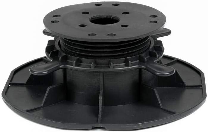 75 St/ück Trevendo/® Universal Terrassenlager L 45-70 mm Verstellbereich