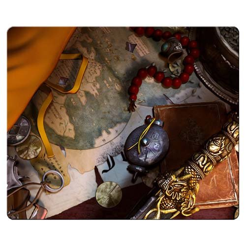 Price comparison product image 26x21cm 10x8inch Gaming Mouse Pads cloth * rubber Washable Custom Uncharted