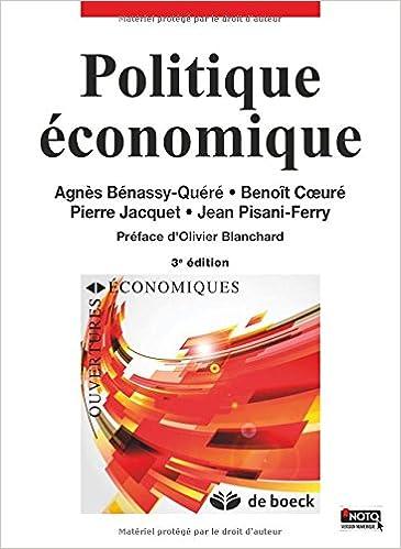 En ligne Politique Economique pdf, epub ebook