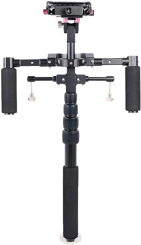 Thunder luz doble mango estabilizador de cámara réflex digital ...