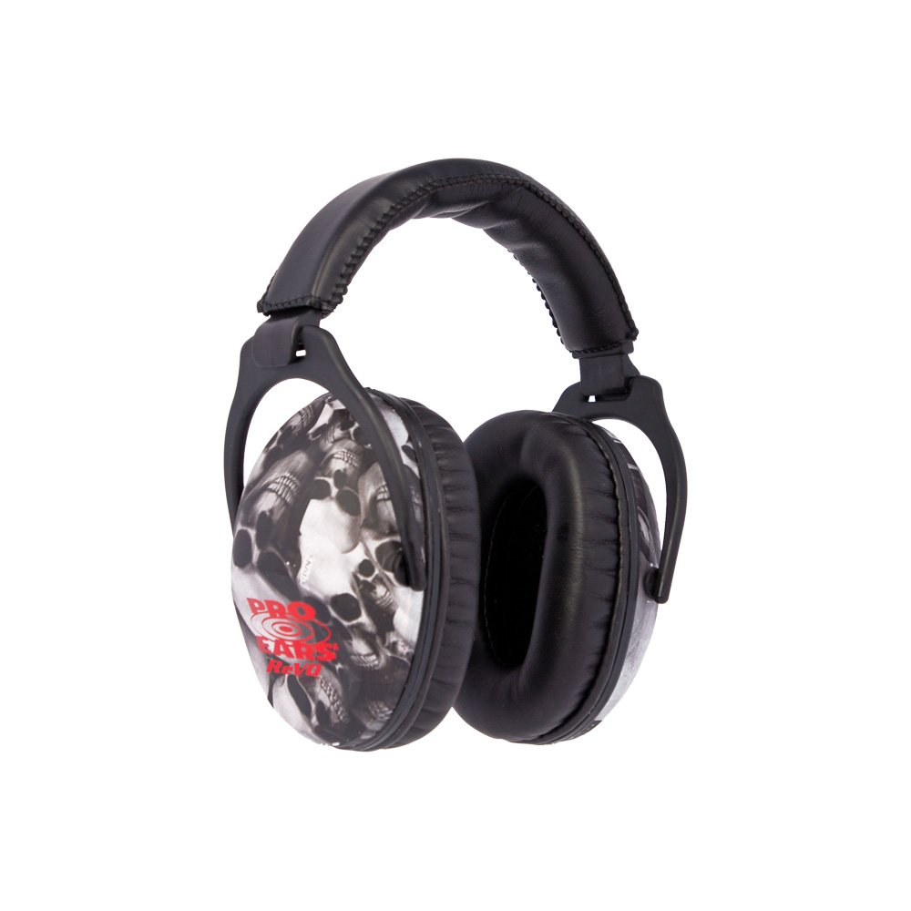 Pro Ears - ReVO - Hearing Protection - NRR 25 - Youth and Women Ear Muffs - Skulls