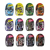LEZHI Large Metal Wire IQ Puzzle Set of 12-Individually Packed-Fun Brain Teaser IQ Game for Kids and Adult-Great Educational Toy