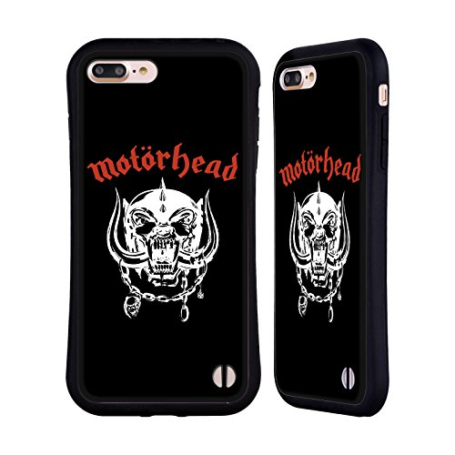 Official Motorhead 1977 Album Covers Hybrid Case for iPhone 7 Plus/iPhone 8 Plus