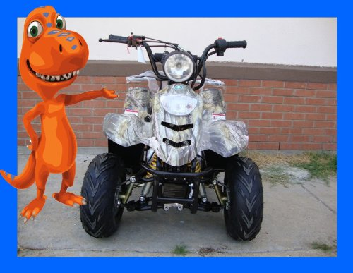 SMART DEALSNOW Brings Brand New 110cc ATV 4 wheeler fully automatic for kids  - New TREE CAMO color by MOUNTOPZ (Image #4)