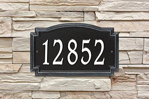 Home Accessories Outdoor Address Plaque - 9