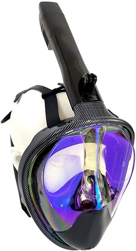 Tbest Maschera Subacquea Maschera facciale per Lo Snorkeling Maschera Antiscivolo per Immersioni subacquee Maschera Subacquea