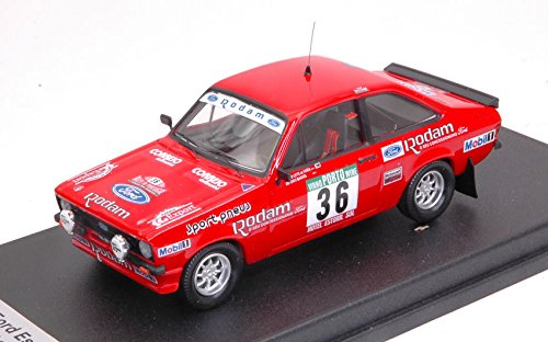 FORD ESCORT Mk2 N.36 10th 2nd Gr.1 PORTUGAL 1985 P.L.FARIA-A.MANUEL 1 43 - Trofeu - Auto Rally - Die Cast - Modellino