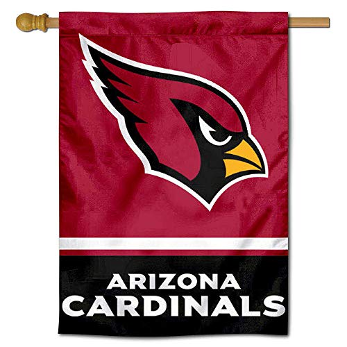 Arizona Cardinals Banner Flag - WinCraft Arizona Cardinals Two Sided House Flag