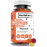 Vegan Vitamin C Supplement for Kids by Herbaland - Plant-Based and Natural Ingredients Vitamin Gummies for the…