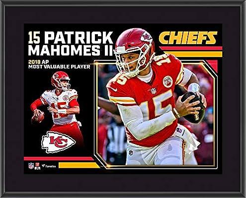 b8ece2d05ec Patrick Mahomes Kansas City Chiefs 2018 NFL MVP 10
