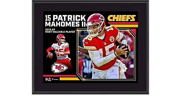 c7238b3ee09 Amazon.com: Patrick Mahomes Kansas City Chiefs 2018 NFL MVP 10