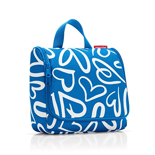 Reisenthel Toiletbag Special Edition Aquarius Blue (Funky Hearts)