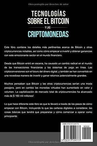 Amazon.com: Tecnologías Sobre el Bitcoin y las Criptomonedas ...