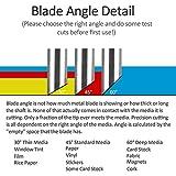 HQMaster 60 Degree Tungsten Steel Lettering Blade