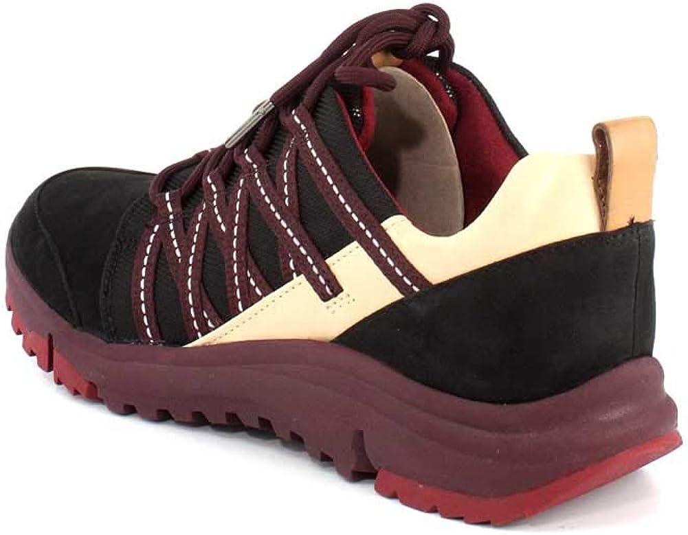 CLARKS Womens Tri Trail Sneaker Black Interest