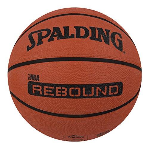 Spalding Rebound Rubber Basketball  Color: Brick, Size: 7