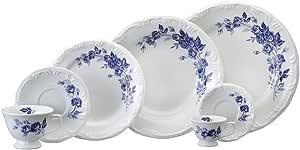 Serviço Jantar Chá Café 28 Peças Porcelana Schmidt Com