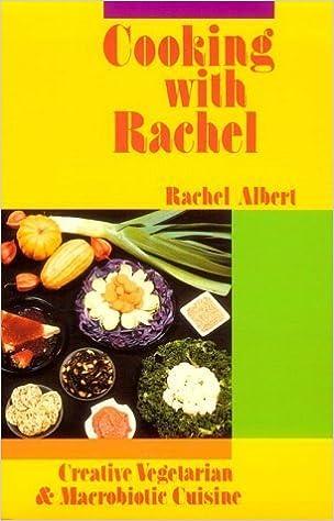 Book Cooking With Rachel by Rachel Albert (1988-10-03)