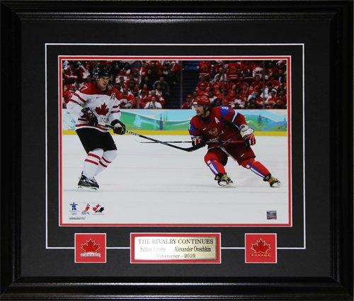 Sidney Crosby & Alexander Ovechkin Team Canada Team Russia 8x10 frame
