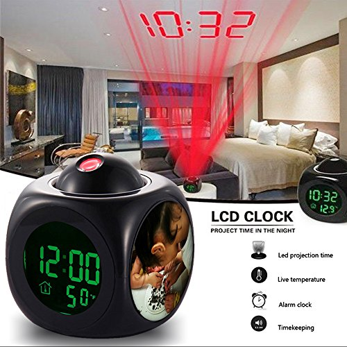 (Alarm Clock Multi-function Digital LCD Voice Talking LED Projection Wake Up Bedroom with Data and Temperature Wall / Ceiling Projection,owl-458.We are dissecting owl pellets today. by BarbaraLN)