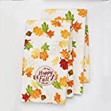 Autumn Leaves Fall Kitchen Hand Towels 16.5 x 26 Set of 2